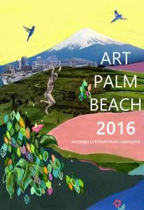 Winning Poster for Art Palm Beach 2016 by Samantha Vassor